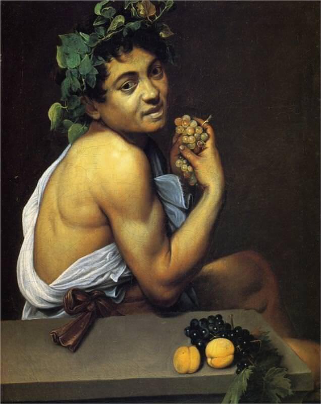 Young sick bacchus 1953 - by Caravaggio
